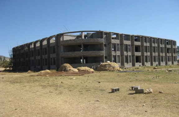 Library Design that Awlaelo Schools Alumni Association determines to build in Wukro