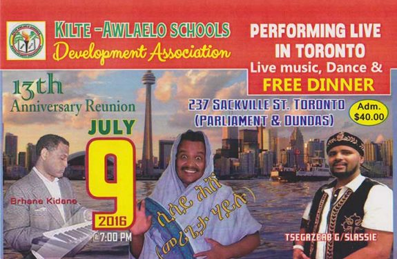 13th Awlaelo anniversary reunion in Toronto